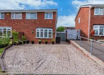Thumbnail 3 bed semi-detached house for sale in Giles Road, Lichfield
