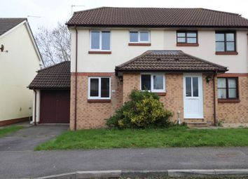 Thumbnail 2 bed semi-detached house for sale in Cedar Grove, Roundswell, Barnstaple