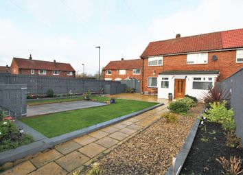 Thumbnail 3 bed semi-detached house for sale in Naworth Drive, Hillheads, Newcastle Upon Tyne