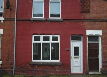 Thumbnail 1 bed terraced house to rent in Cunningham Road, Doncaster