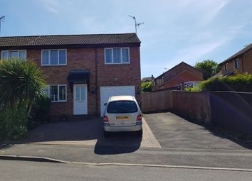 Thumbnail 4 bed semi-detached house for sale in Marigold Close, Swindon