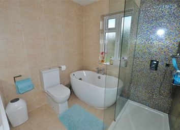 Thumbnail 3 bed semi-detached house to rent in Hythe Field Avenue, Egham, Surrey