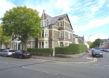 Thumbnail 3 bedroom flat to rent in Marlborough Road, Roath, Cardiff