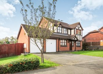 Thumbnail 4 bed detached house for sale in Cherrywood Drive, Gonerby Hill Foot, Grantham
