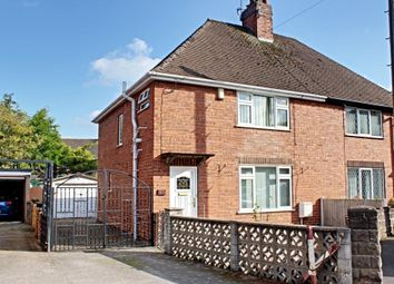 Thumbnail 3 bed semi-detached house for sale in Northfield Avenue, Rocester, Uttoxeter