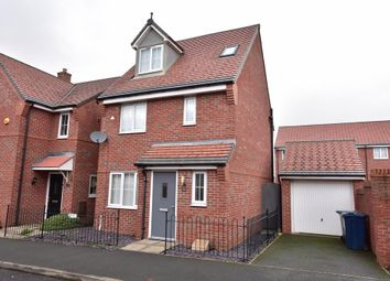 Thumbnail 4 bed detached house for sale in Merchant Road, Ormskirk