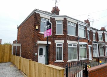 Thumbnail 3 bedroom end terrace house for sale in Skirbeck Road, Hull