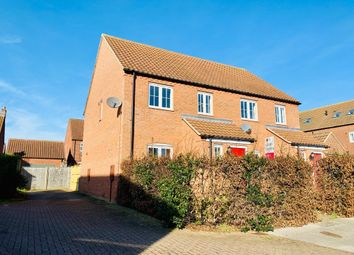 Thumbnail 3 bedroom semi-detached house to rent in St Lawrence Drive, Bardney, Lincoln