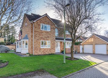 Thumbnail 4 bed detached house for sale in Stonalls, Woolpit, Bury St. Edmunds