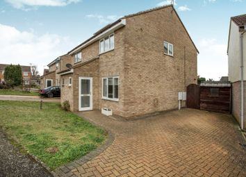 Thumbnail 2 bed semi-detached house to rent in Steggall Close, Needham Market, Ipswich