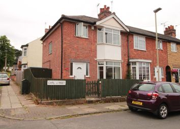 Thumbnail 3 bed end terrace house for sale in Carl Street, Leicester