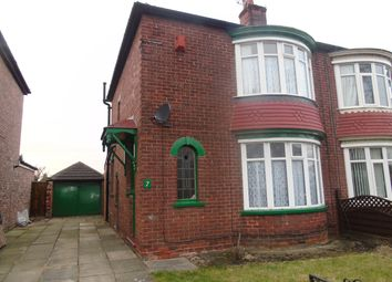 Thumbnail 2 bedroom semi-detached house to rent in Lexden Avenue, Middlesbrough