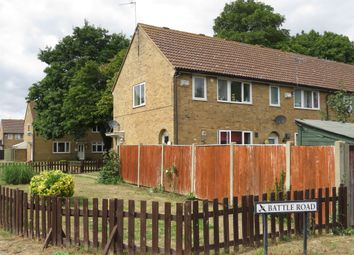 Thumbnail 2 bed end terrace house for sale in Battle Road, Upwood, Huntingdon
