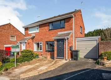 Thumbnail 2 bed semi-detached house for sale in Rowan Close, Evesham, Worcestershire