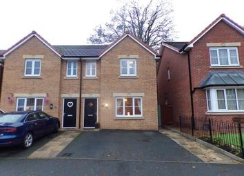 Thumbnail 3 bed semi-detached house for sale in Llys Ambrose, Mold, Flintshire