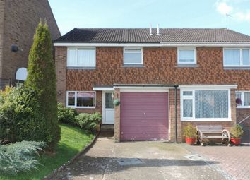 Thumbnail 3 bed semi-detached house for sale in Amanda Close, Bexhill On Sea, East Sussex
