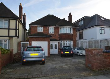 Thumbnail 4 bed detached house for sale in Woodcroft Avenue, Mill Hill, London