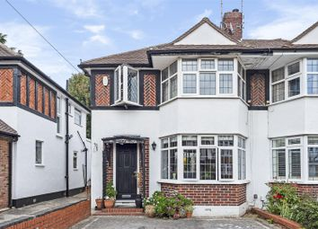 Thumbnail 3 bed semi-detached house for sale in Garth Road, Kingston Upon Thames