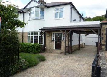 Thumbnail 3 bed property to rent in Hallfield Drive, Baildon, Shipley