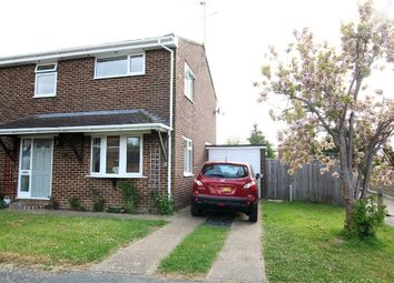 Thumbnail 3 bed semi-detached house for sale in 110 Hazel Way, Crawley Down, West Sussex