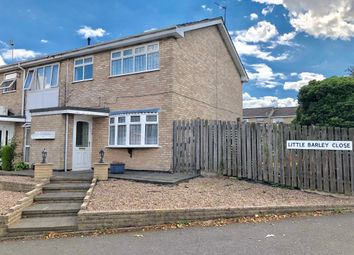 Thumbnail 3 bed end terrace house for sale in Little Barley Close, Leicester