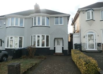 Thumbnail 3 bed semi-detached house for sale in Charlbury Crescent, Yardley, Birmingham