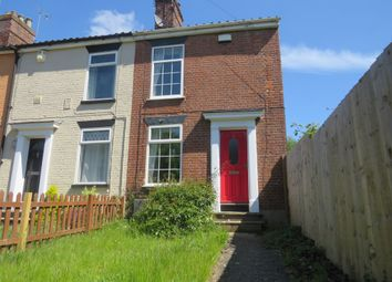 Thumbnail 2 bedroom end terrace house for sale in Drayton Road, Norwich