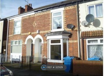 Thumbnail 3 bedroom terraced house to rent in Welbeck Street, Hull