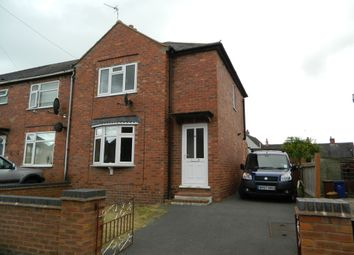 Thumbnail 2 bedroom semi-detached house to rent in Howitt Crescent, Uttoxeter