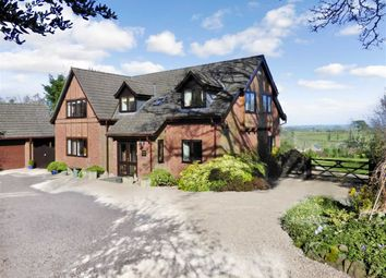 Thumbnail 4 bed detached house for sale in Silverdale Drive, Trefonen, Oswestry