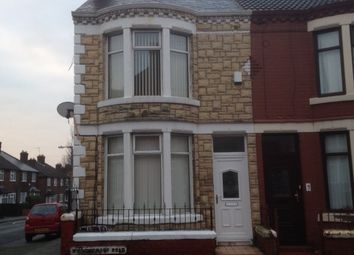 Thumbnail 3 bed end terrace house to rent in Willowcroft Road, Wallasey
