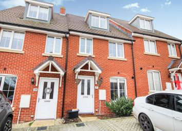 Thumbnail 3 bed terraced house for sale in Dowse Close, Tidworth