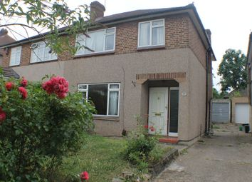 Thumbnail 3 bed semi-detached house to rent in Highcombe Close, London