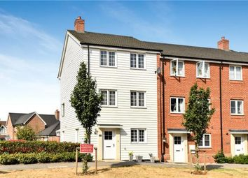 Thumbnail 4 bed semi-detached house for sale in Jubilee Drive, Church Crookham, Fleet