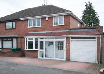 Thumbnail 3 bed semi-detached house for sale in Shenstone Road, Great Barr, Birmingham