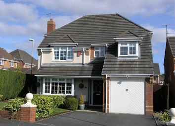 Thumbnail 4 bedroom detached house for sale in Berkswell Close, Dudley, Dudley