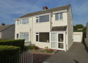 Thumbnail 3 bed semi-detached house to rent in Statham Road, Bodmin