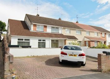 Thumbnail 3 bed semi-detached house for sale in Medway Road, Bettws, Newport
