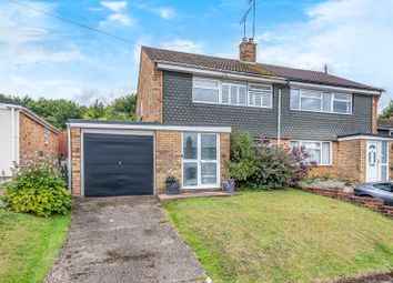 Thumbnail 3 bed semi-detached house for sale in Churchill Close, Alton