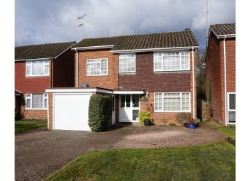 Thumbnail 4 bed detached house for sale in Cranleigh Court, Farnborough