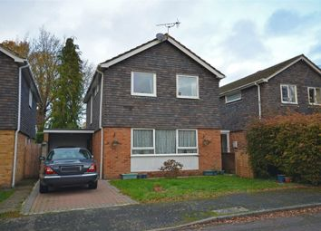 Thumbnail 4 bed detached house for sale in Rideway Close, Camberley, Surrey