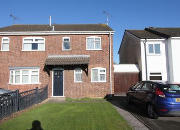 Thumbnail 3 bedroom semi-detached house for sale in The Drive, Barwell, Leicester