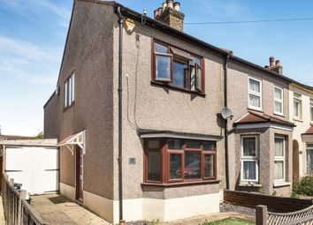 Thumbnail 3 bed end terrace house for sale in Dorset Road, London