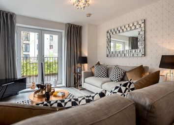 "Thumbnail 2 bedroom flat for sale in ""Wincham"" at William Morris Way, Tadpole Garden Village, Swindon"