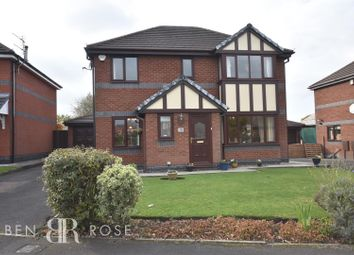 Thumbnail 4 bed detached house for sale in Kenyon Road, Standish, Wigan