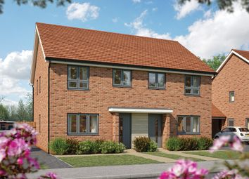 """Thumbnail 2 bed semi-detached house for sale in """"The Holly"""" at Fields Road, Wootton, Bedford"""