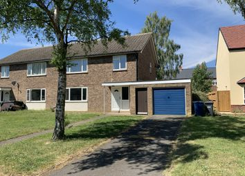 3 bed semi-detached house to rent in Throckmorton Drive, Brampton, Huntingdon, Cambridgeshire PE28