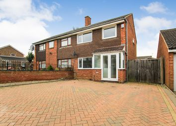 Thumbnail 3 bed semi-detached house to rent in Celina Close, Bletchley, Milton Keynes