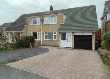 Thumbnail 3 bed semi-detached house for sale in All Hallows Road, Walkington, Beverley