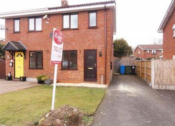 Thumbnail 2 bed semi-detached house to rent in St. Andrews Drive, Perton, Wolverhampton